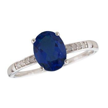 14kw Sapphire / Diamond Rings