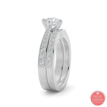 1.27 CT Diamond Bridal Set