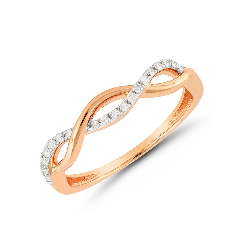 Saslow's & Henebry's Collection Diamond Pink Fashion Ring
