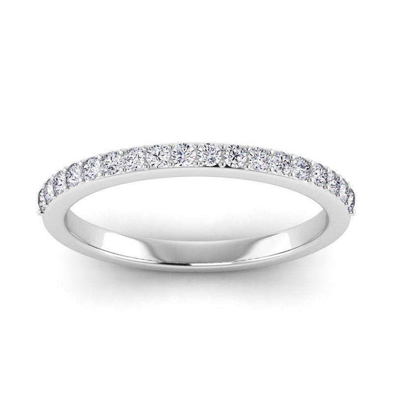 Lab Grown Diamonds Certified 1/4ctw Diamond Matching Band