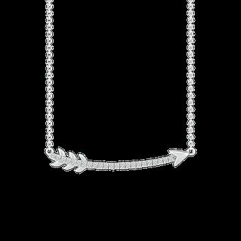 Curved Arrow Necklace