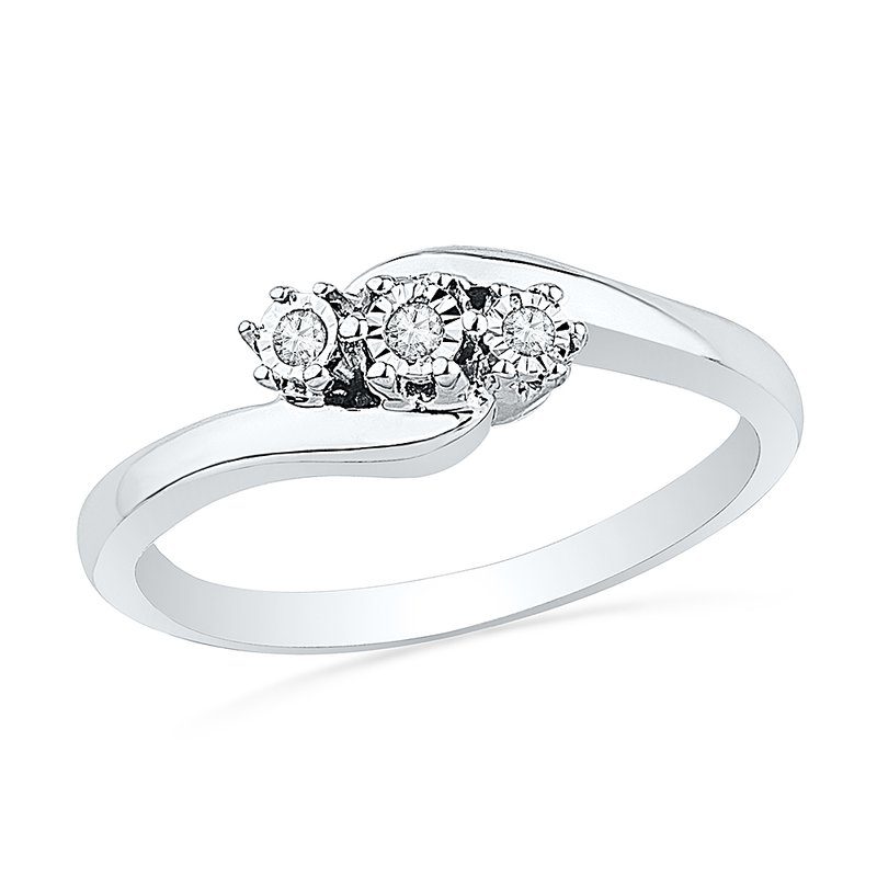 Gifts That Rock 3 Stone Promise Ring
