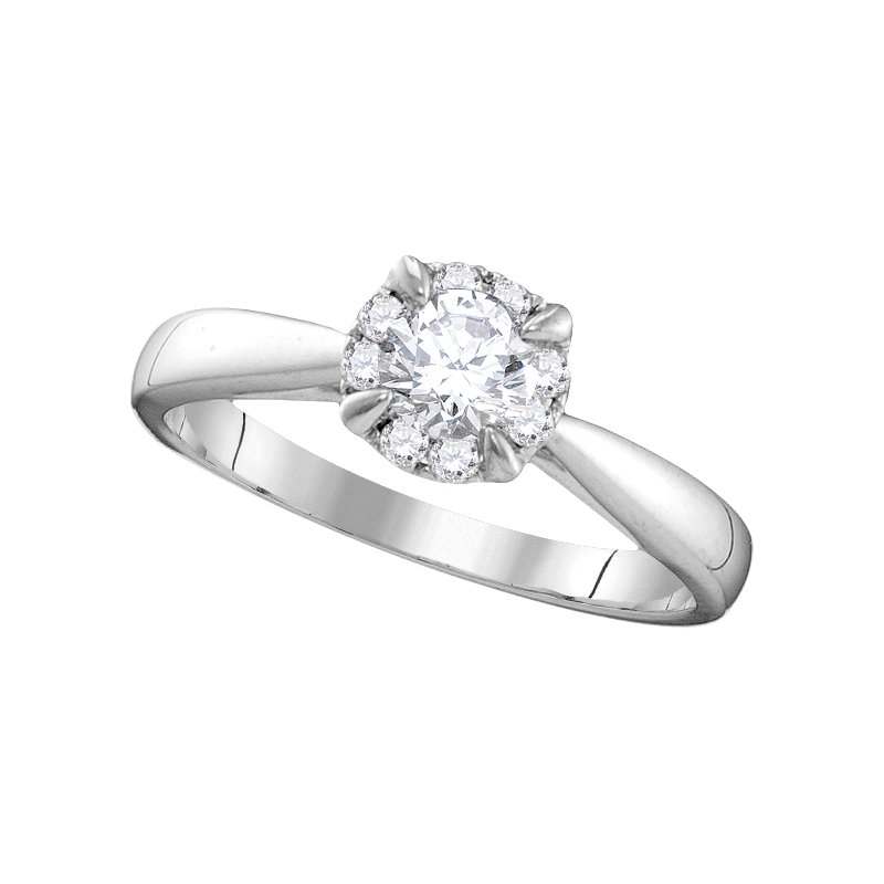 Promise Forever Certified 1/2ctw Engagement Ring