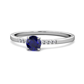 """The Royal"" Oval Sapphire & Diamond Ring"