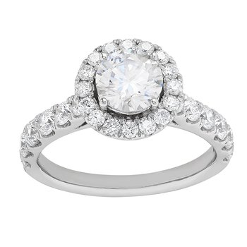 Certified 2ctw Certified Grown With Love Engagement Ring