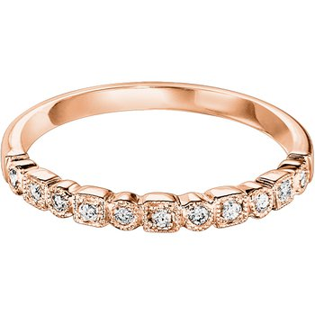 Mixables Stackables Diamond Wedding Bands