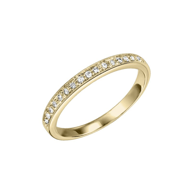 Saslow's & Henebry's Collection Mixables Stackables Diamond Wedding Bands