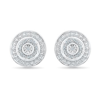 SS .05CTW DIA EARRINGS
