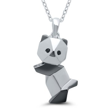Origami Panda Necklace