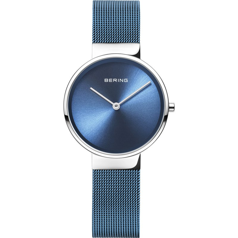 Bering  Anniversary | Polished Silver Watch