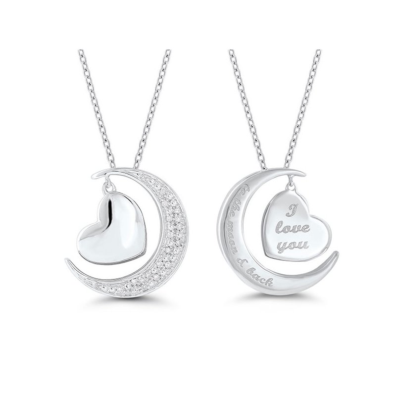"""Gifts That Rock """"To The Moon"""" Pendant"""
