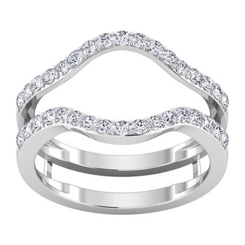 Certified 1/2ctw Diamond Wedding Bands