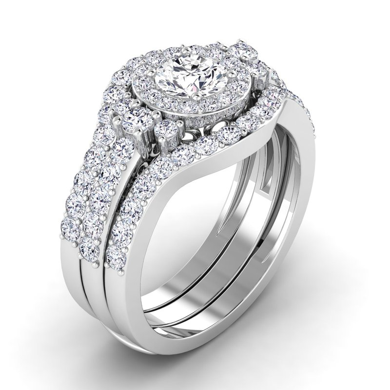 Lab Grown Diamonds Certified 1/2ctw Diamond Wedding Band