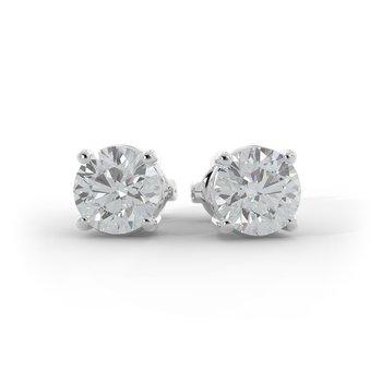 2 CT Diamond Studs