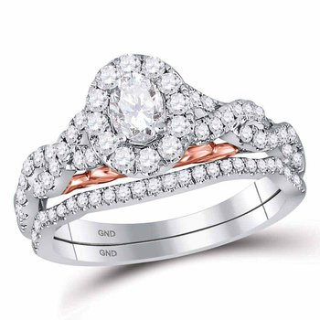 1 CT-DIA 1/3CT OVAL BELLISSIMO BRIDAL RING