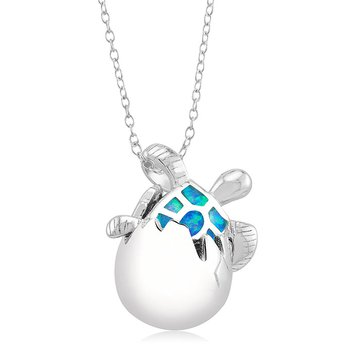 Sea Life Turtle Pendant
