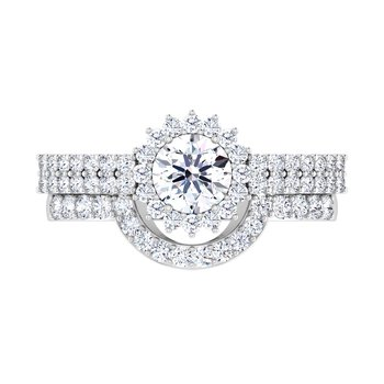 Certified 1 1/8ct Diamond Engagement Ring