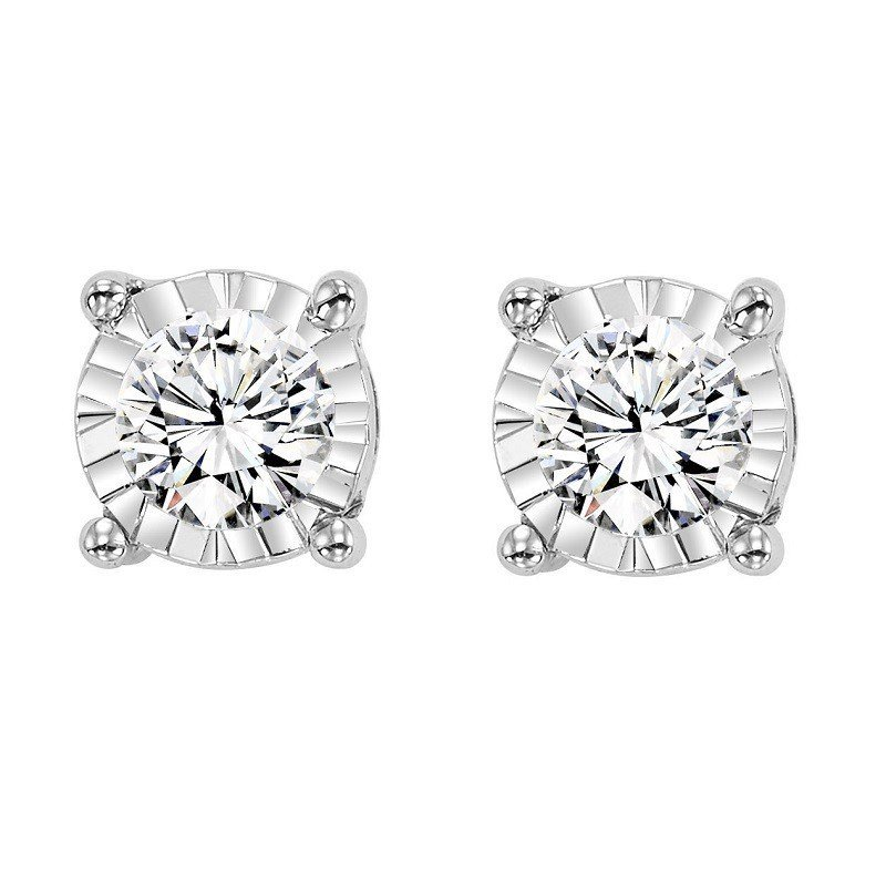Tru-Reflection Diamond Earrings