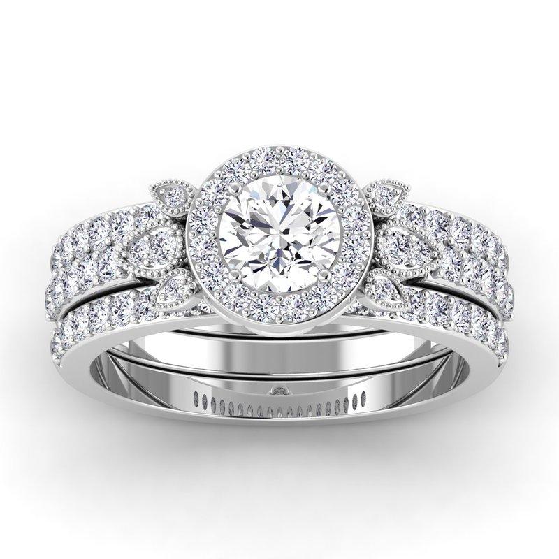 Lab Grown Diamonds Certified 1ctw Engagement Ring