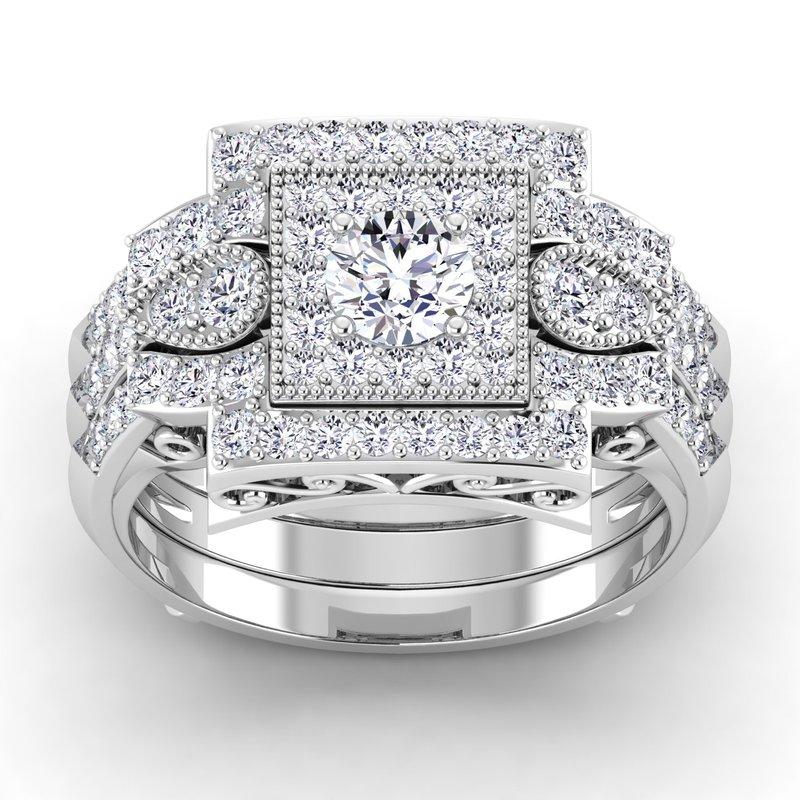 Lab Grown Diamonds Certified 1/2ctw Diamond Band