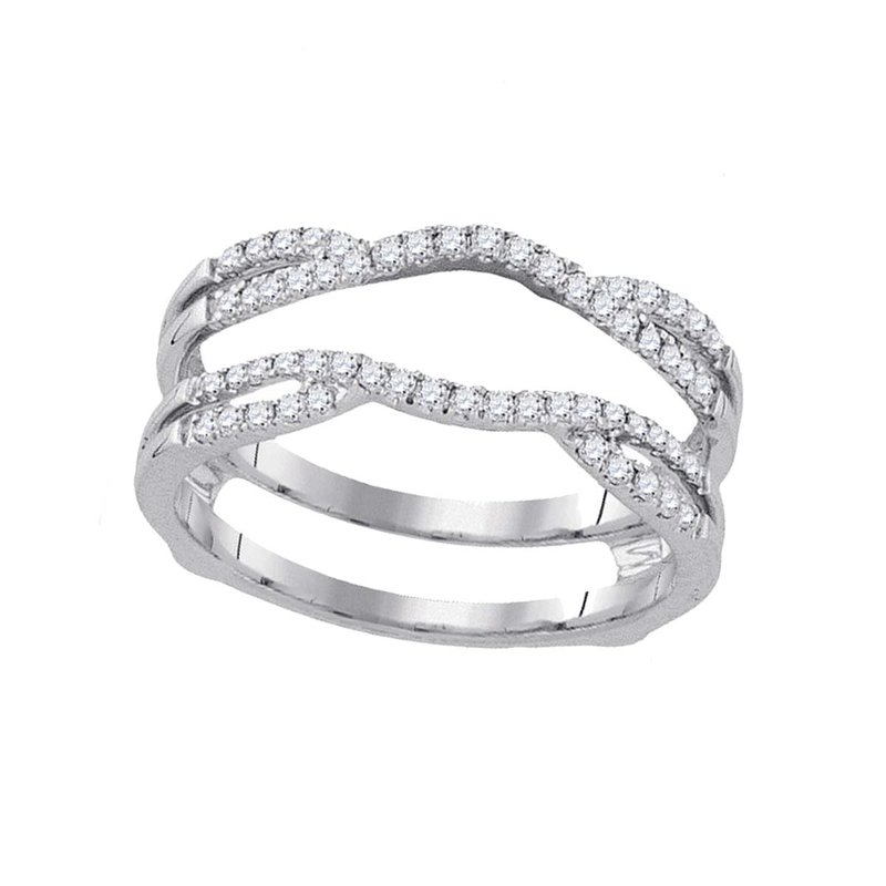 Saslow's & Henebry's Collection 1/3 ctw White Gold Diamond Enhancer