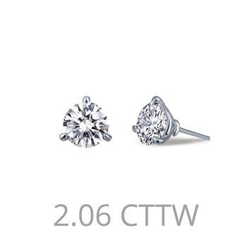 2.06 CTW Stud Earrings