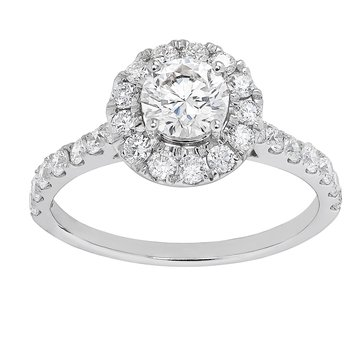 Certified 1.5ctw  Grown With love Engagement Ring