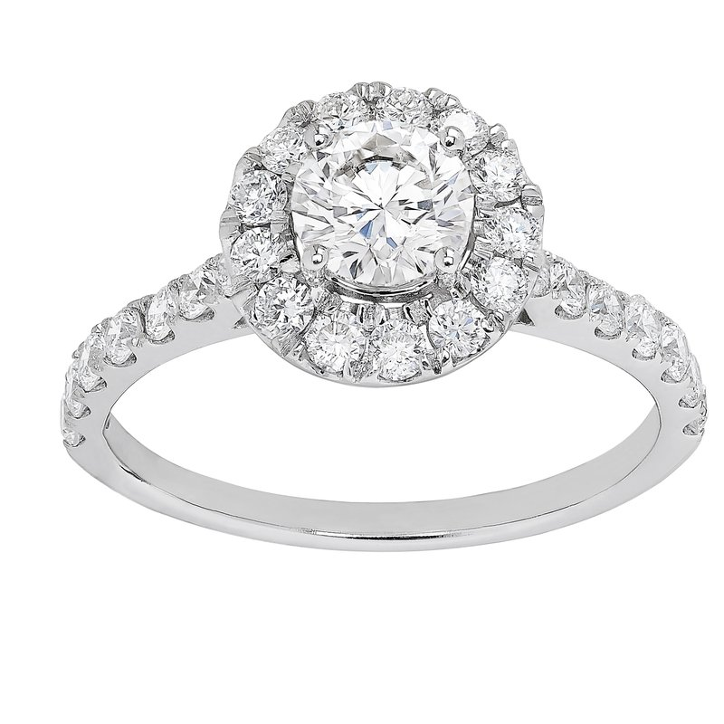 Lab Grown Diamonds Certified 1.5ctw  Grown With love Engagement Ring