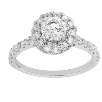 Certified 1ctw Grown With Love Engagement Ring