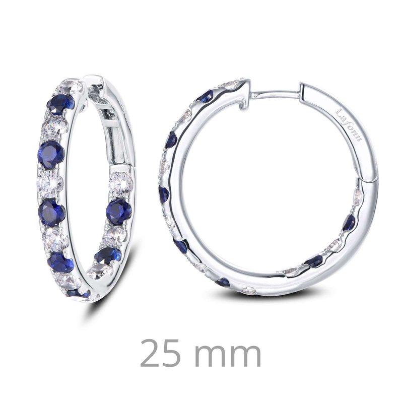 LaFonn 3.52 CTW Hoop Earrings
