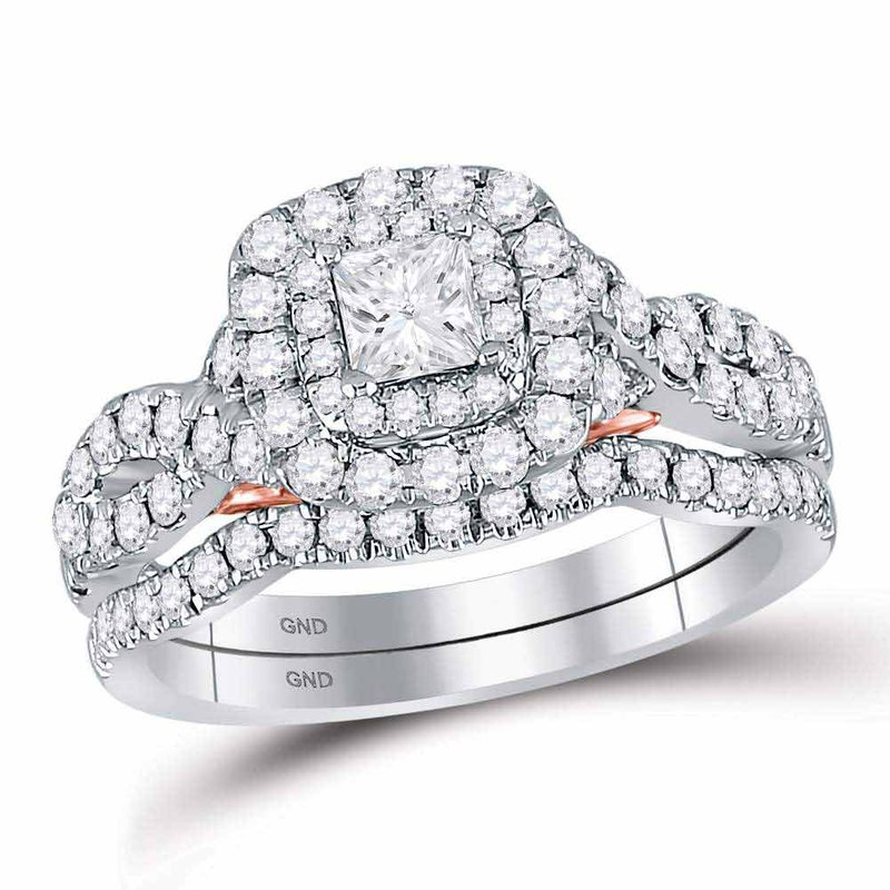 Bellissimo 1 1/4CT-DIA 1/3CT-CPR BELLISSIMO BRIDAL SET