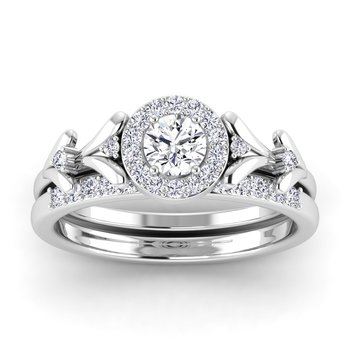 Certified 1/2ctw Diamond Engagement Ring