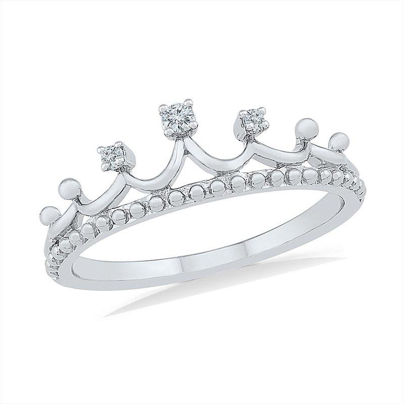 Gifts That Rock Diamond Tiara Promise Ring