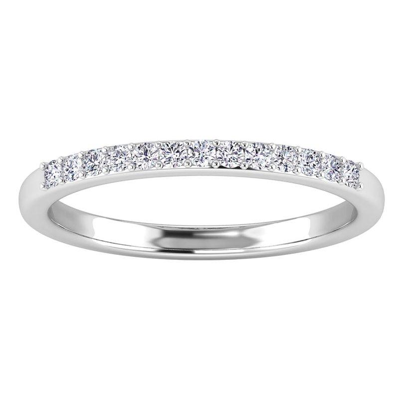 Lab Grown Diamonds Certified 1/8ctw Diamond Wedding Band