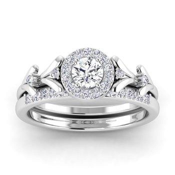 Certified 1/8ctw Diamond Wedding Band