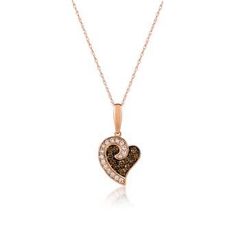 Le Vian Diamond Heart Pendant