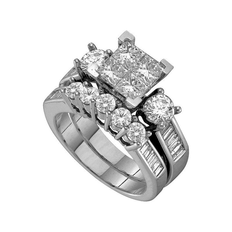 Promise Forever 1ctw Princessa Diamond Ring