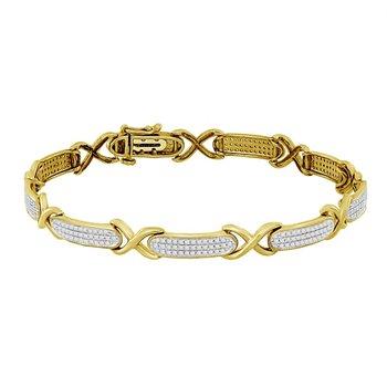 .70ctw Bar Bracelet