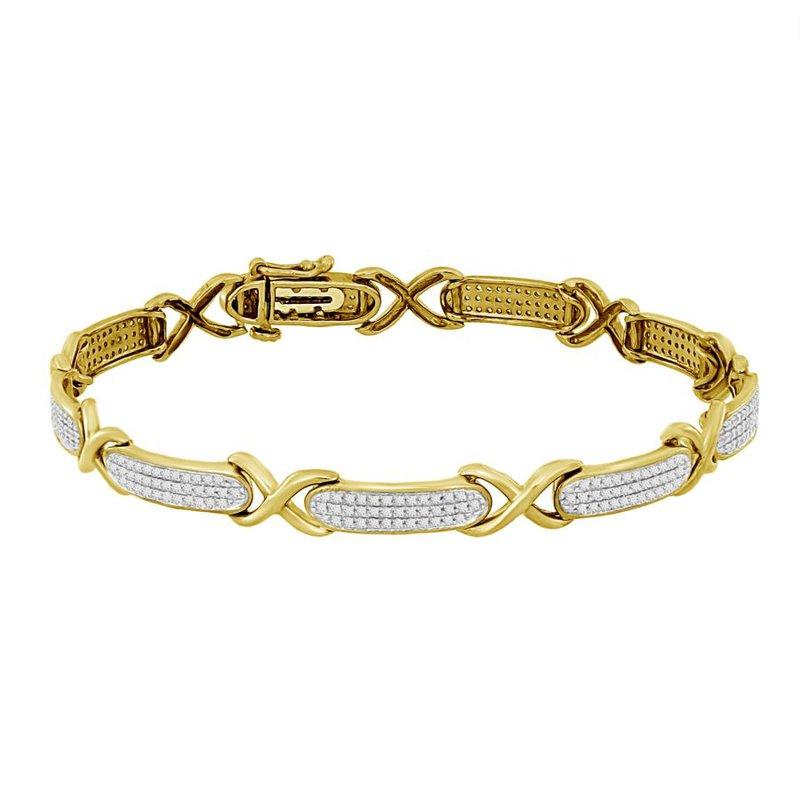 Saslow's & Henebry's Collection .70ctw Bar Bracelet