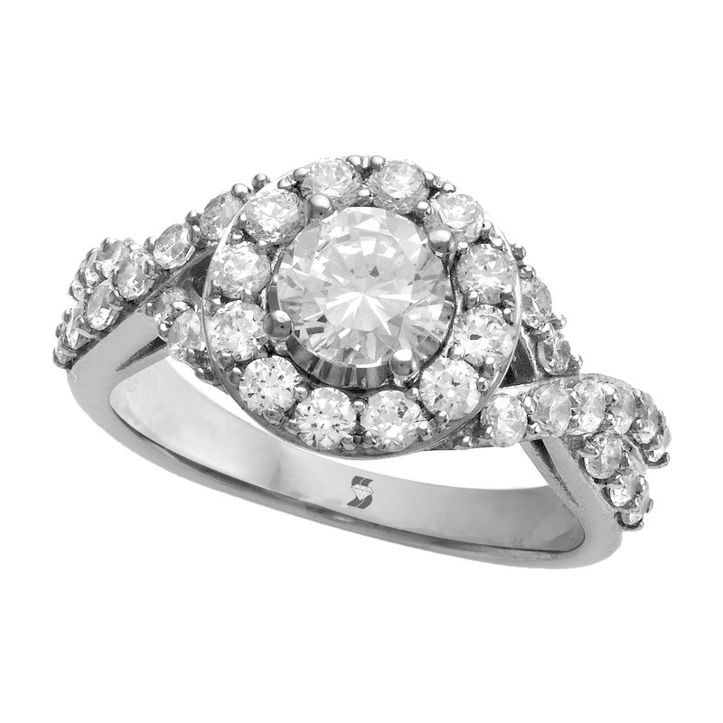 Promise Forever 2.06ctw Halo Bridal Set