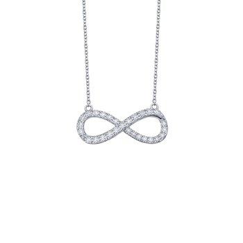 0.33 CTW Infinity Necklace