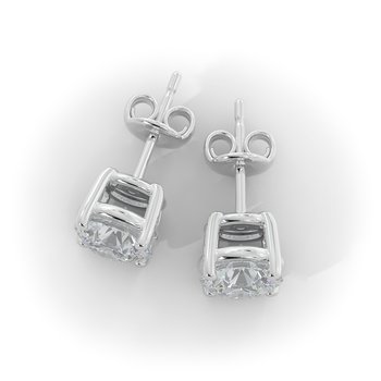 3/4 CT Lab Grown Diamond Studs