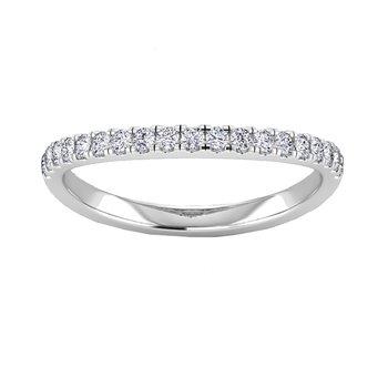 Certified 1/3ctw Diamond Matching Wedding Band