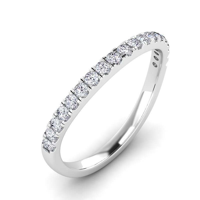 Lab Grown Diamonds Certified 1/3ctw Diamond Matching Wedding Band