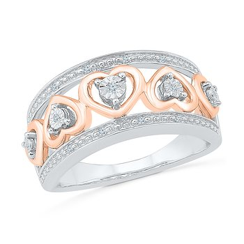 .05ctw Hearts Ring