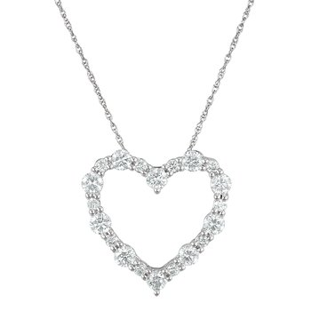 1ctw Diamond Heart Pendant