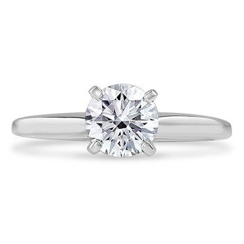 Certified 1.5ctw Solitaire Engagement Ring