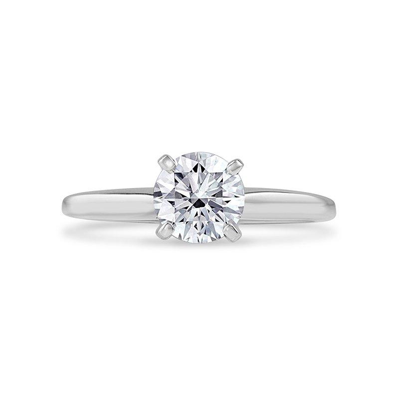 Lab Grown Diamonds Certified Lab Grown Round Diamond Solitaire Bridal Set