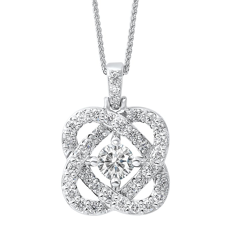 Gifts That Rock 1/4ct Love Crossing Pendant