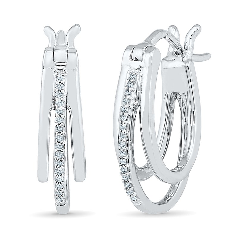 Gifts That Rock SS .10CTW DIA EARRINGS
